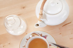 Tea and sugar Royalty Free Stock Photography