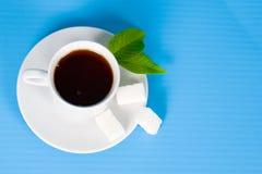 Tea with sugar Royalty Free Stock Photos