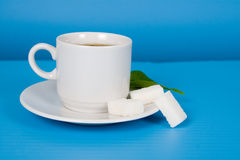 Tea with sugar Stock Photos