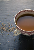 Tea with Sugar Royalty Free Stock Photography