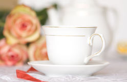 Tea with surprise Stock Photography