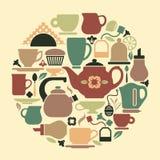 Tea symbol Stock Images
