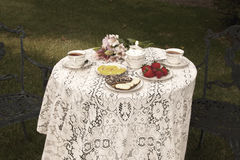 Tea Table Royalty Free Stock Photography
