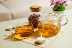 Tea on the table Royalty Free Stock Photography