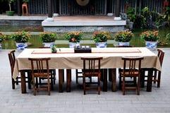 Tea table Royalty Free Stock Photography