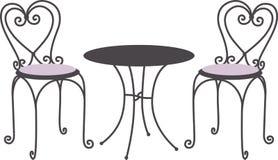 Tea Table Stock Photo