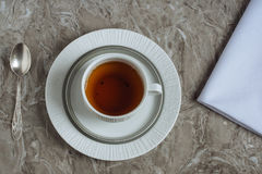 Tea table set for one Royalty Free Stock Photos