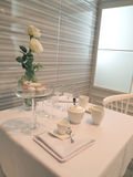 Tea table Royalty Free Stock Images