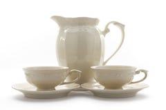 Tea tableware Stock Images