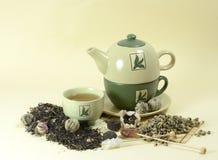 Tea and tea-pot Royalty Free Stock Photography