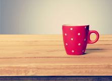Tea. Wooden background mug cup wood board Stock Image