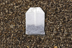 Tea and teabag Stock Images