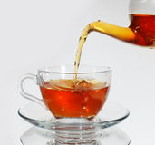 Tea and teacup Royalty Free Stock Images