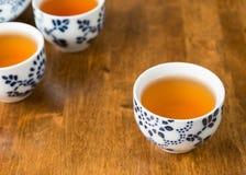 Tea in teacups Stock Photos
