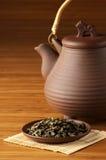 Tea and teapot Stock Photography