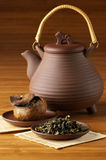 Tea and teapot Royalty Free Stock Images