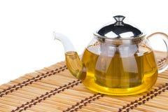 Tea in teapot Stock Images