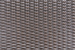 Teça a textura sem emenda do fundo do teste padrão de vime plástico do rattan Fotos de Stock Royalty Free