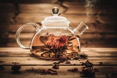 Tea theme still-life Royalty Free Stock Photography