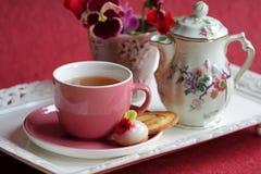 Tea-time Fotografie Stock
