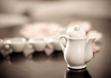 Tea Time. With Shallow DOF Royalty Free Stock Image