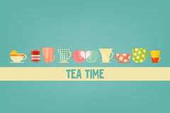 Free Tea Time Stock Image - 54296621