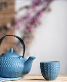Tea time asian way Stock Photos