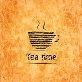 Tea time background Stock Photos