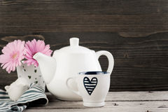 Tea time background Royalty Free Stock Images