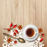 Tea time background Royalty Free Stock Photography
