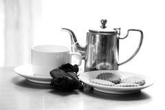 Tea time. Beautiful shot of morning tea time Stock Photo