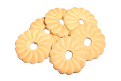 Tea time biscuits Royalty Free Stock Photos