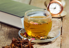 Tea time concept Stock Photo