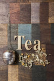 Tea time concept Stock Photography