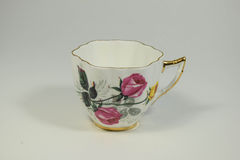 Tea time. Tea cup taken at 125 at f8 with a white bacxkground Royalty Free Stock Photos