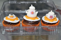 Tea Time Cupcakes  Stock Photo
