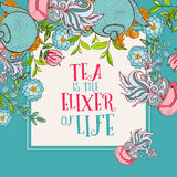 Tea time design banner templates set Stock Photo