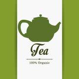 Tea time design Stock Image