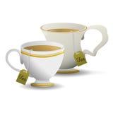 Tea time design Stock Photos
