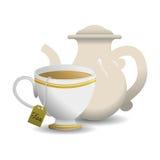 Tea time design Royalty Free Stock Image