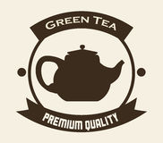 Tea time design Royalty Free Stock Images