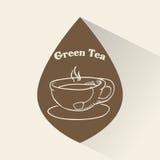 Tea time design Royalty Free Stock Photo