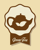 Tea time design Stock Photography