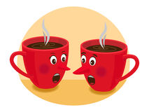 Tea time gossip Stock Photography