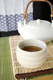 Tea time japanese style Stock Photography