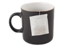 Tea time in office Royalty Free Stock Photography