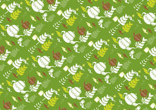 Tea time pattern hand drawn vector Stock Image