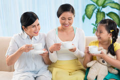 Tea time Royalty Free Stock Photography