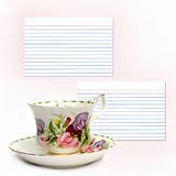 Tea Time Recipe Royalty Free Stock Photo