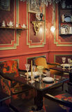 Tea time in restaurant. Tea time in luxury restaurant Royalty Free Stock Images